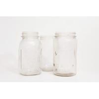 Vintage Mason Jars - Quart Sized