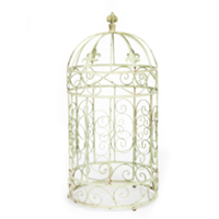 Large Gold Birdcage