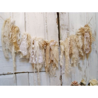 Shabby Lace and Doily Bunting