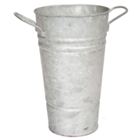 Galvanized French Flower Buckets