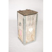 Wooden Water Jug Crate