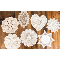 Assorted Medium Sized Doilies