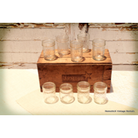 Clear Jelly Jars