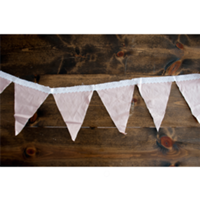 Shabby Pink Bunting