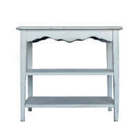 Shabby White Shelf