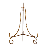 Small Gold Tabletop Easel