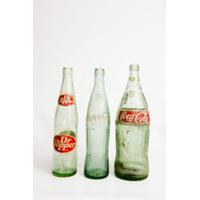 Old Soda and Beer Bottles