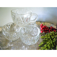 Crystal Punch Cups