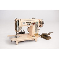 Peach Sewing Machine