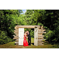 Rustic Ceremony Doors