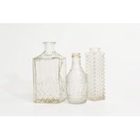 Assorted Cut Glass Bottles