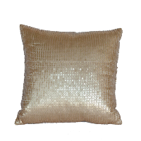 Small Gold Sequined Pillows