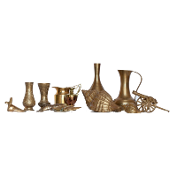 Assorted Brass Figurines