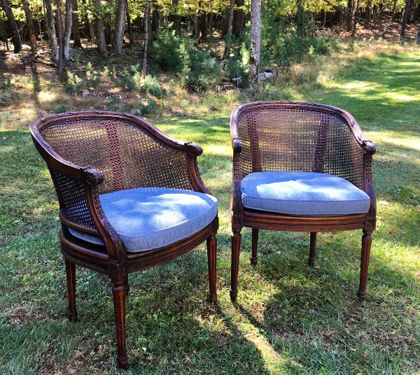 "Vintage ""Callie"" Chairs"