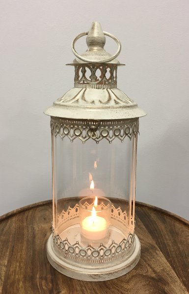 Ivory & Gold Lantern 1