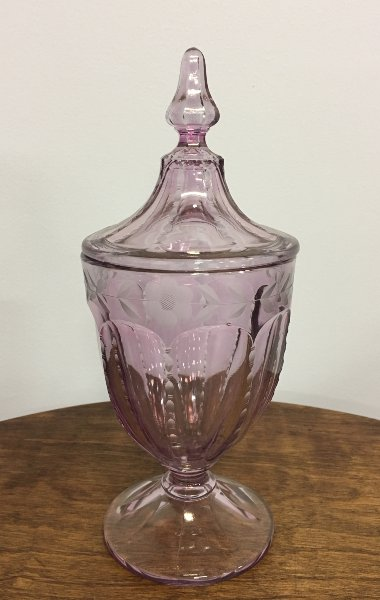 Purple Vintage Candy Dish