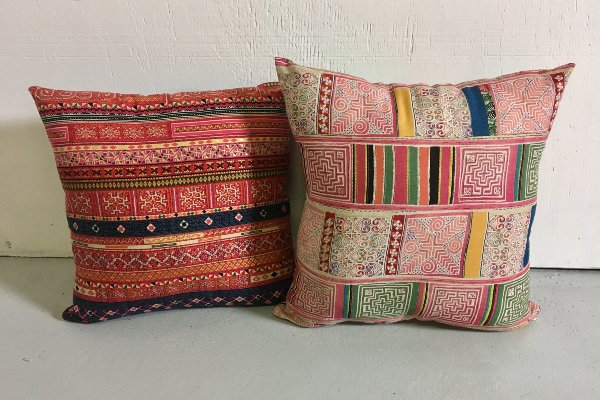 Set Of 2 Moroccan Style Pillows