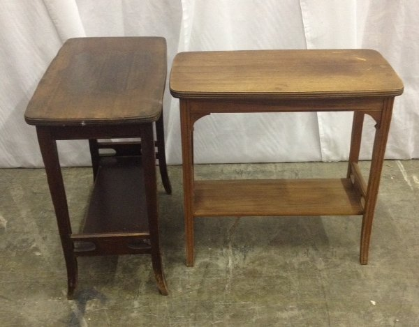 Set of Two Vintage Side Tables