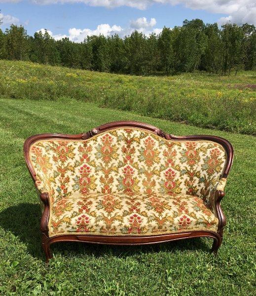 "Vintage ""Betsy"" Sofa"