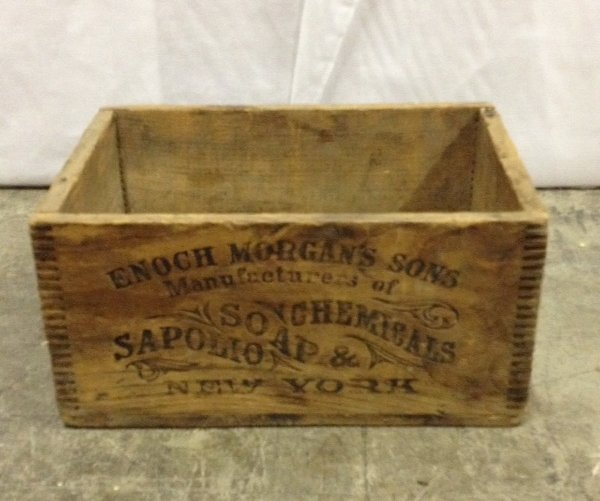 "Vintage ""Morgan"" Wooden Box"