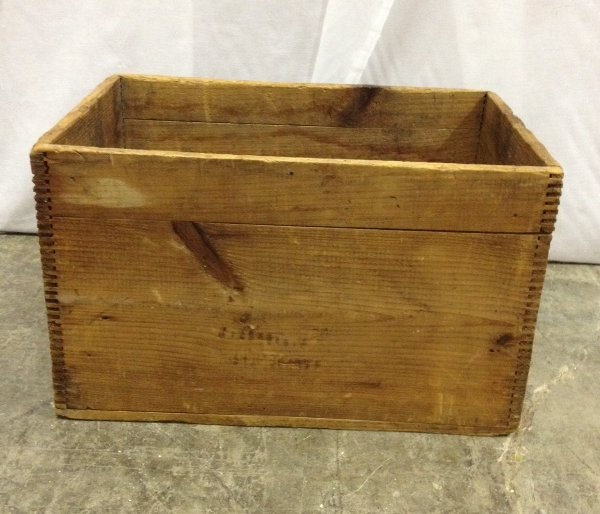 "Vintage ""Lincoln"" Wooden Box"