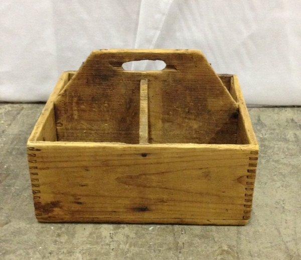 "Vintage ""Clark"" Wooden Box"