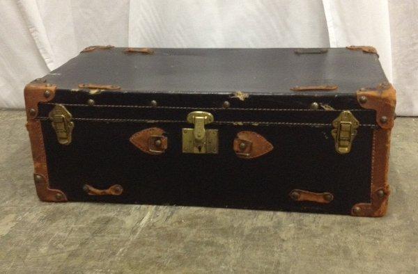 Black & Brown Vintage Trunk