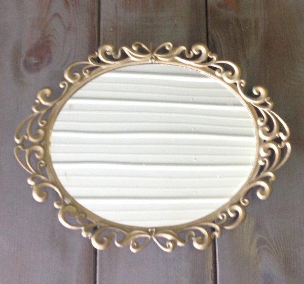 "Vintage ""Lydia"" Mirror Tray"