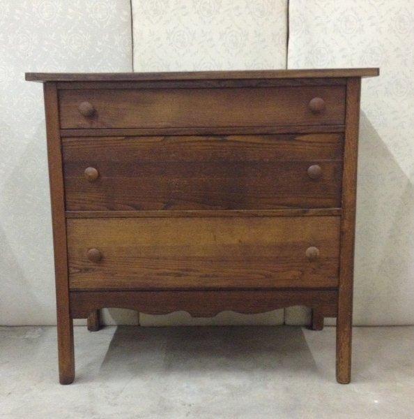Vintage Rustic Dresser