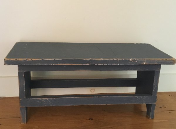 Blue Bench Coffee Table