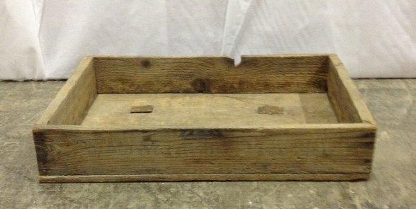 """Vintage """"Tony"""" Wooden Box"""