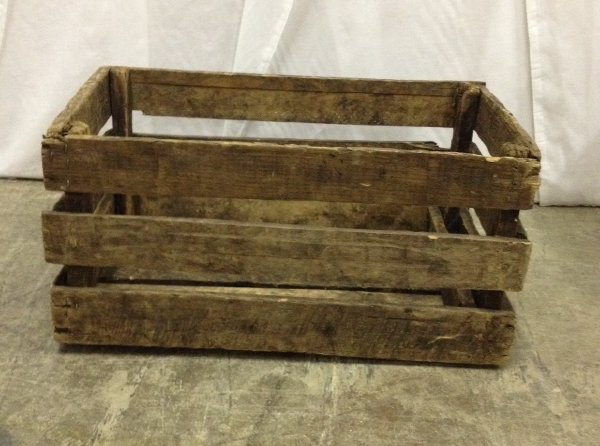 "Vintage ""Zachary"" Wooden Crate"