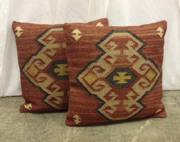 """Set of Two """"Kizzy"""" Pillows"""