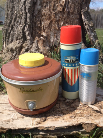 Vintage Thermos, Set of 3