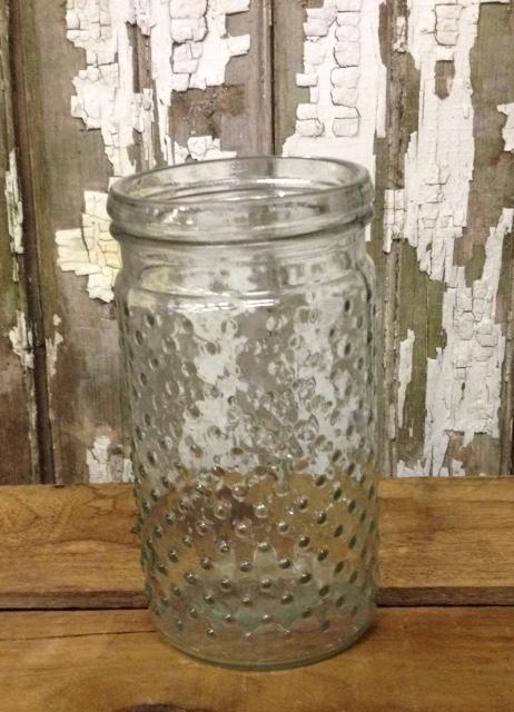 Clear Hobnail Vases