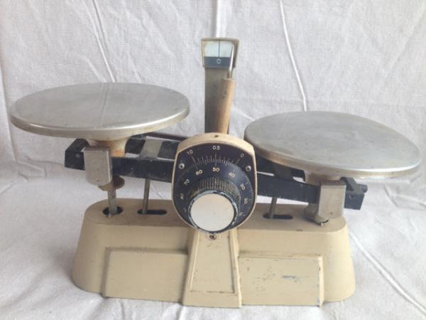 Vintage Double Scale