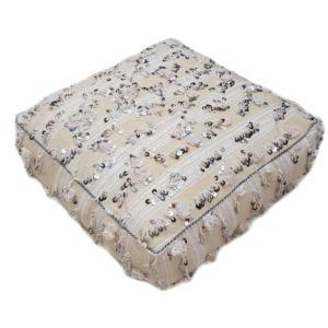 Moroccan Wedding Blanket Floor Cushion