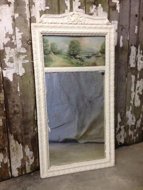 Vintage Landscape Mirror