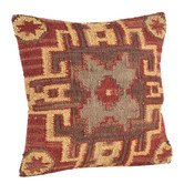 "Set of Two: ""Cedar"" Kilim Pillows"