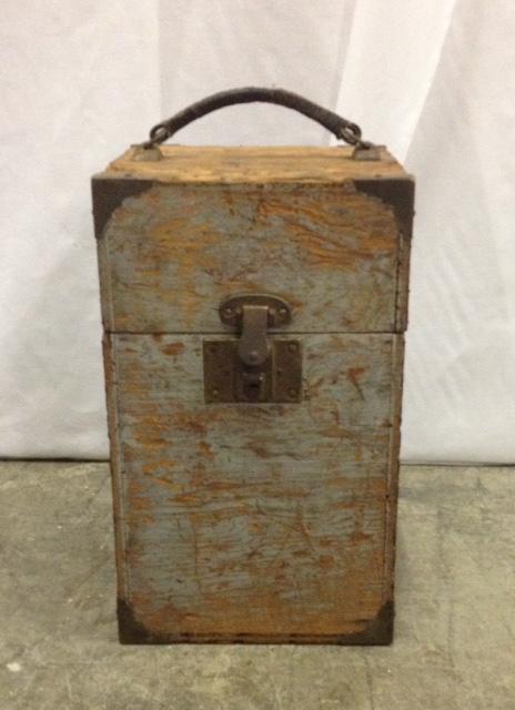 "Vintage ""Gerald"" Wooden Box"