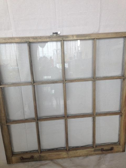 Vintage Rustic 12 Pane Window