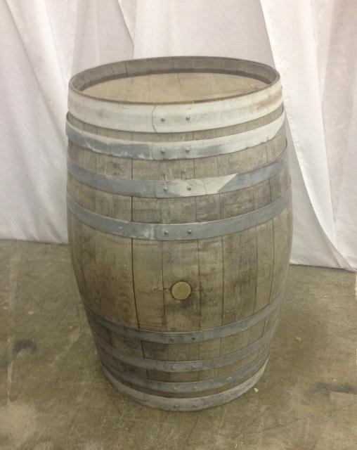 Grey Wine Barrels