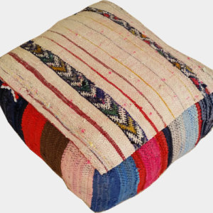 "Moroccan ""Amina""  Kilim Floor Cushion"