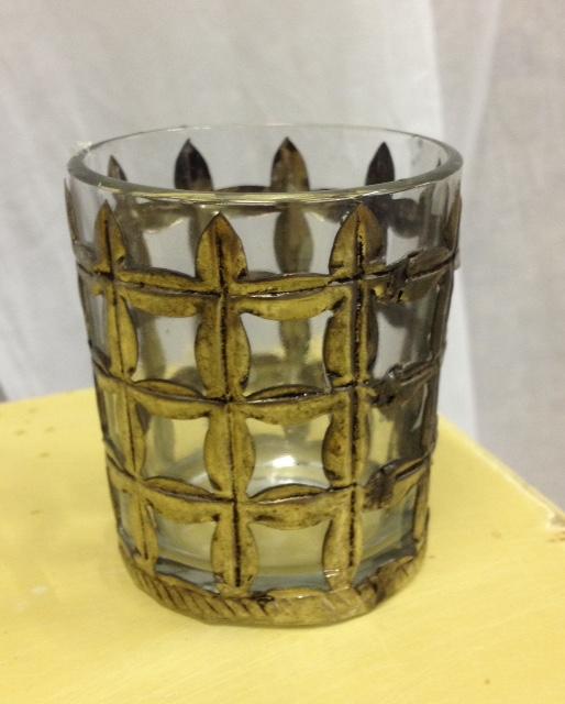 Industrail Style Basket Votive Candle Holder