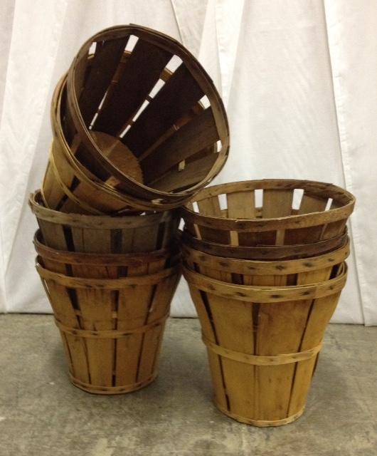 Vintage Bushel Baskets