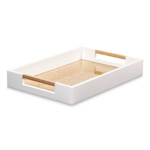 MODERN WHITE SERVING TRAY