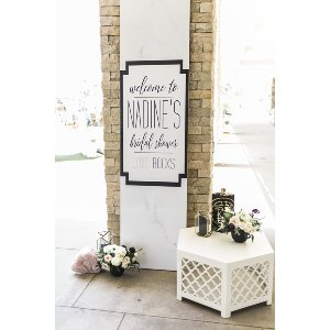 MARBLE SIGN