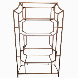 ROSE GOLD ETAGERE