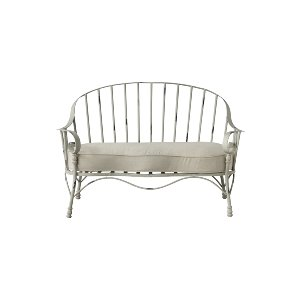 LOUNGE SOFA, METAL SHABBY CHIC