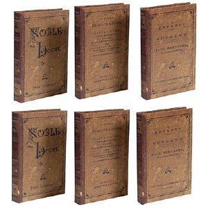 VINTAGE BOOK BOXES